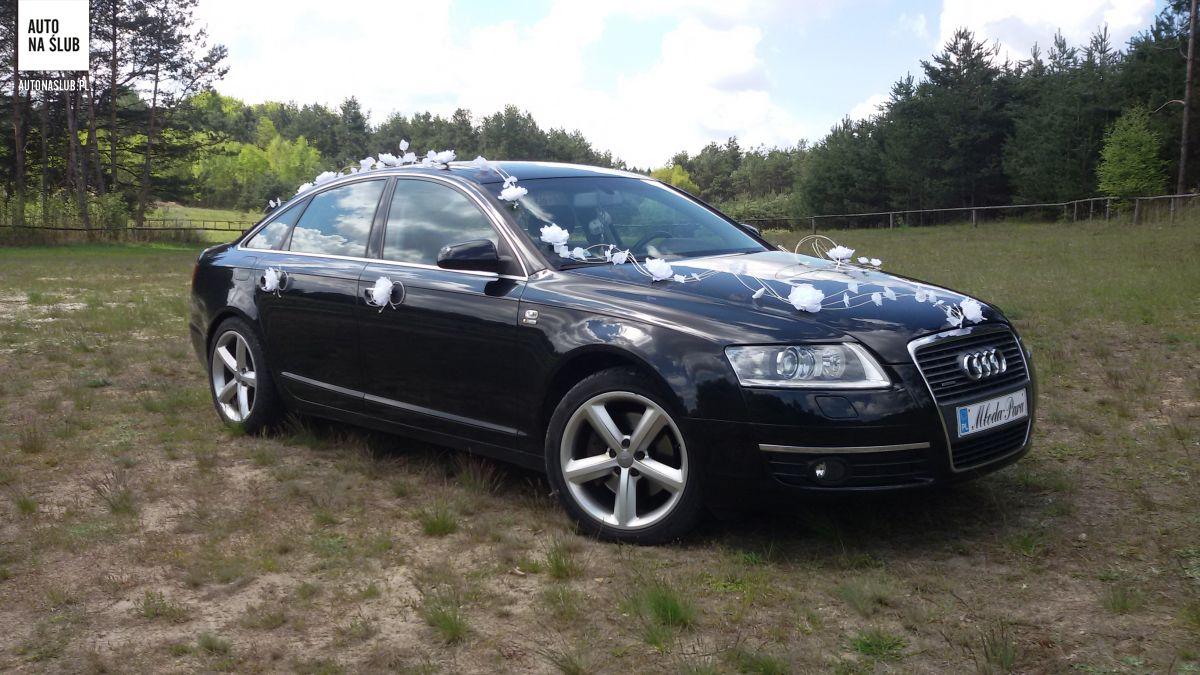 Ogromny Audi A6 3.2 - Auto do ślubu, samochód do ślubu TG83