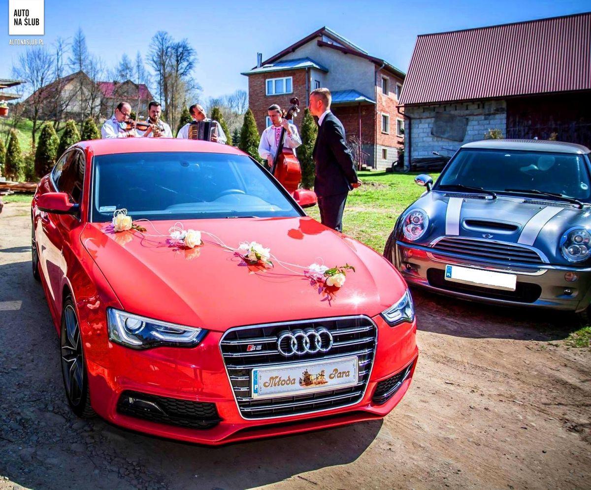 Ogromnie Audi A5/S5 Sportback - Auto do ślubu, samochód do ślubu EN77