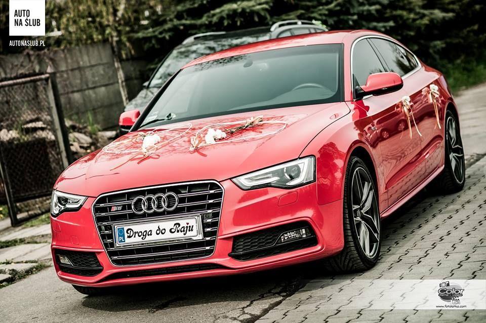 Audi A5s5 Sportback Auto Do ślubu Samochód Do ślubu