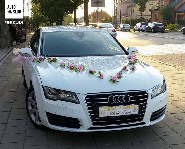 Audi A7 30 Auto Do ślubu Samochód Do ślubu