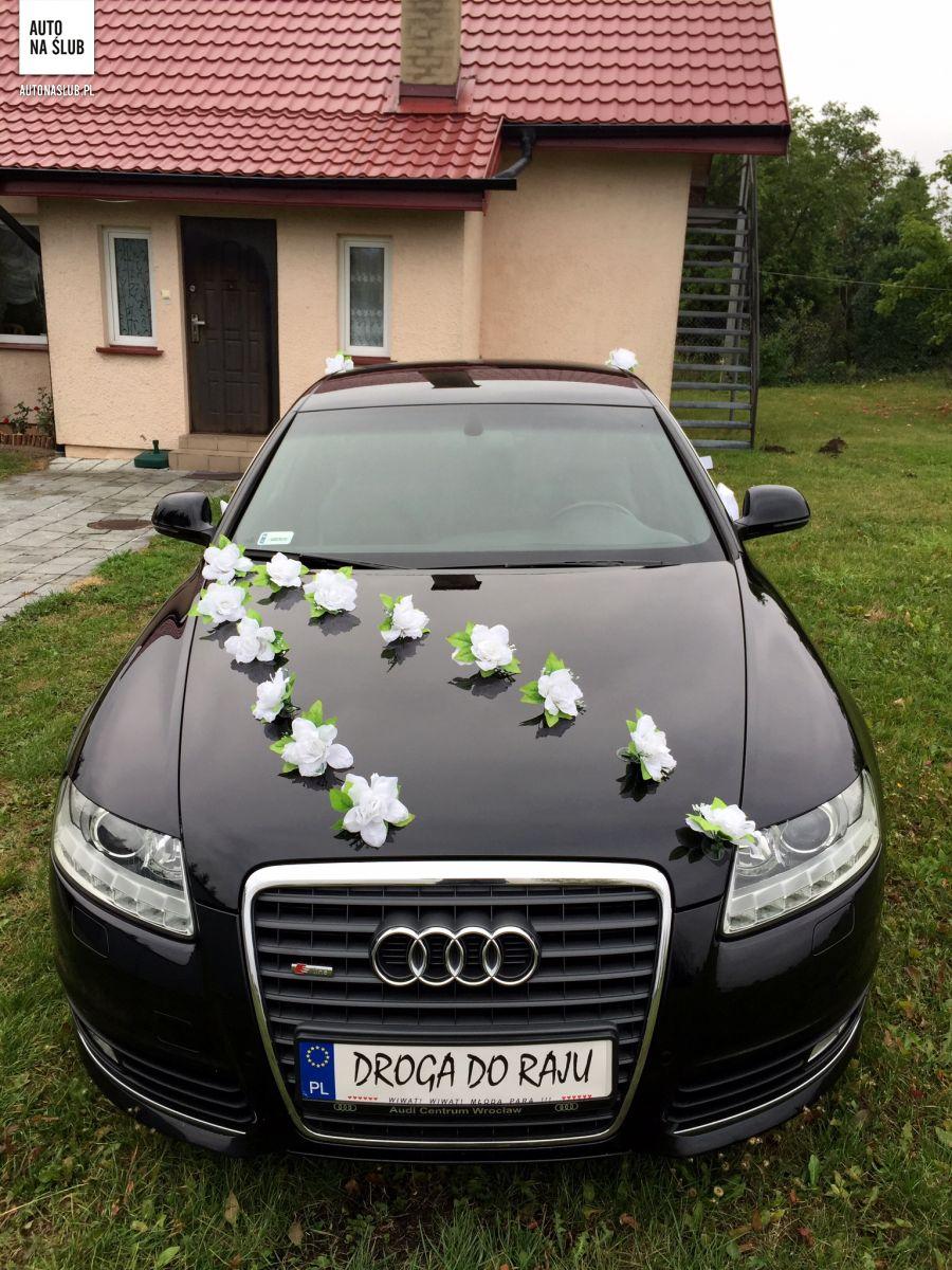 Ogromnie Audi A6 - Auto do ślubu, samochód do ślubu XG68