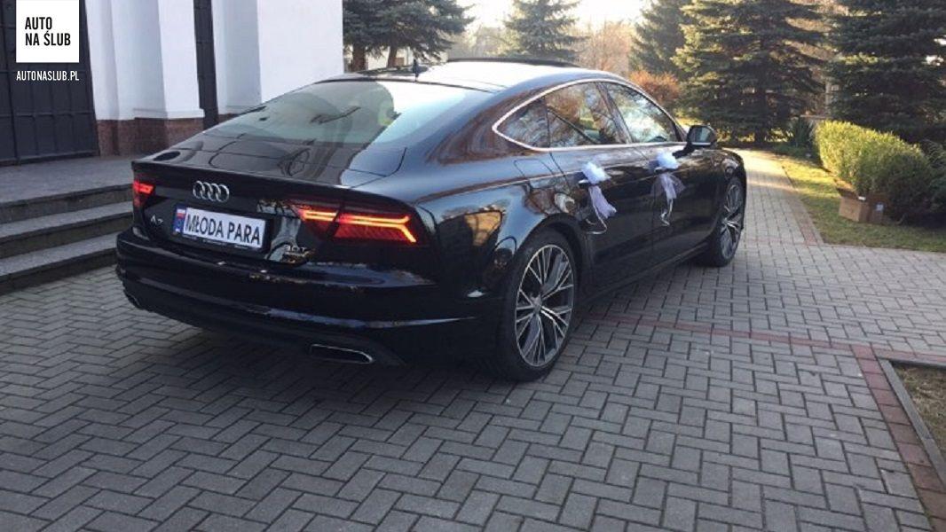 Audi A7 30tfsi Auto Do ślubu Samochód Do ślubu