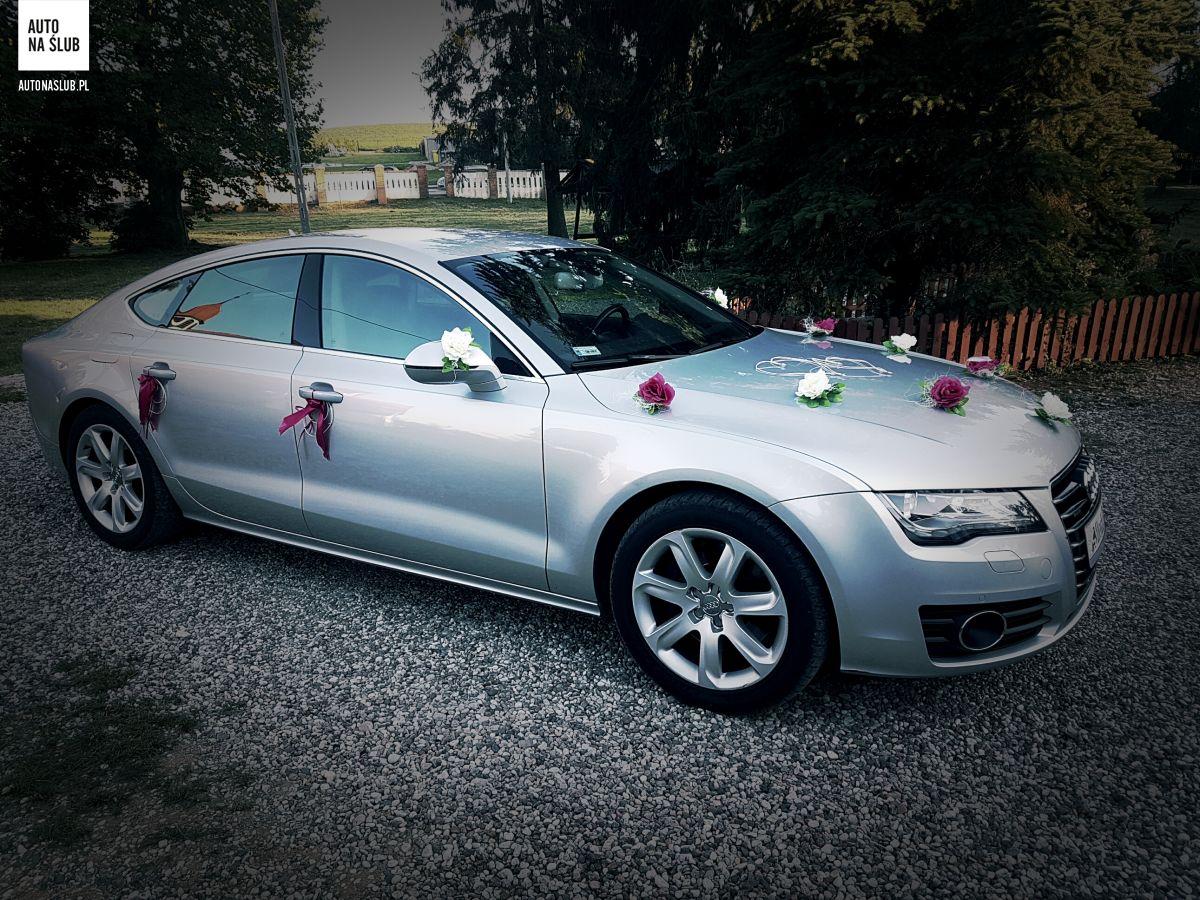 Audi A7 Auto Do ślubu Samochód Do ślubu
