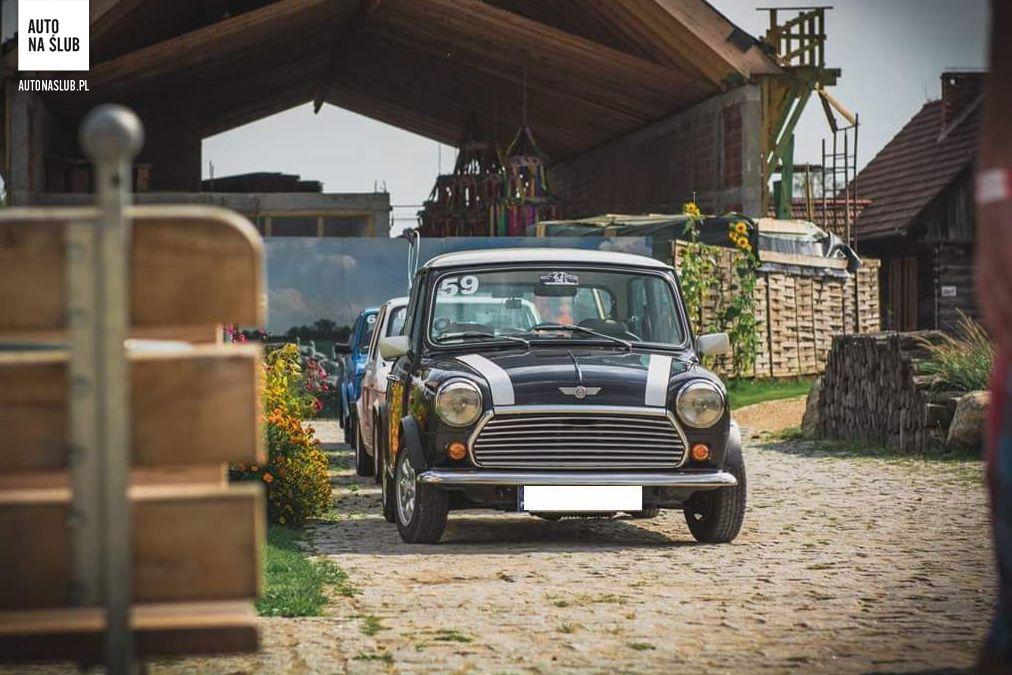 Mini Morris Auto Do ślubu Samochód Do ślubu
